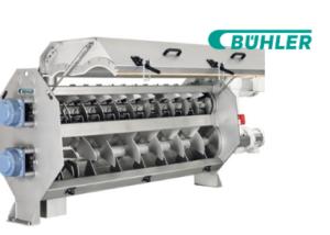 Twin-screw extruder Buhler